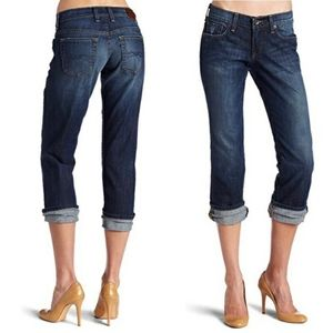 Lucky Brand | Easy Rider Crop Jeans / Size: 6/28